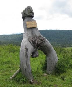 Деревянное изваяние